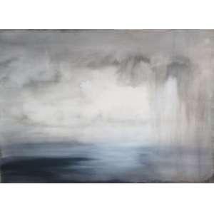 THIAGO ROCHA PITTA, Chuva, Acrilica sobre tela, 2004, 210 x 150 cm. Obra não emoldurada.