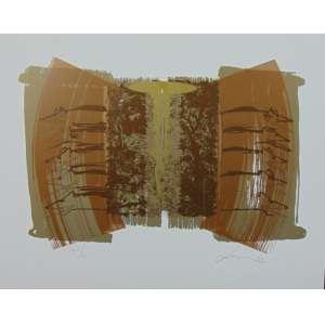 Carlos Vergara - S/T - Serigrafia / CID - 1997 - N° 74/100 - 37 x 47 cm. Obra não emoldurada.
