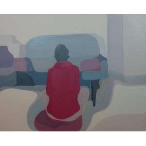 DEBORAH PAIVA - Inverno - OST - dat 2009/2010 - 120 x 150 cm - Certificado de Autenticidade da Galeria Virgilio.