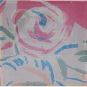 PAULO VON POSER - S/T - Poema (E.E. Cumming), pintura S/ tecido e objetos colados em caixa de acrilico - Assinado na base, datado 2003 - 15 x 15 x 7 cm