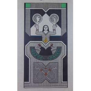 Samico -O Sagrado - Xilogravura / CIE - 1997 - N° 14/120 - 60 x 94 cm. Apresenta leves manchas amareladas(no estado). Obra não emoldurada.