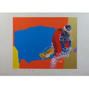 MANABU MABE - Gravura - CID - dat 1957 - 25/100 - 50 x 70 cm.