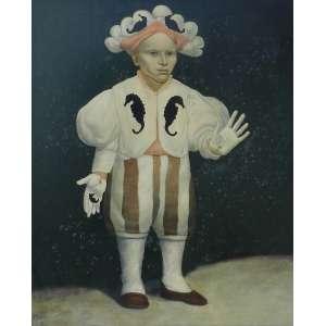 MARIO GRUBER – Da série Fantasiado - OSM/CIE - dat 91 - 70 x 59 cm.