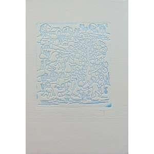 Tarsila - Composição - Gravura - CID - 12 x 10 cm .Obra não emoldurada