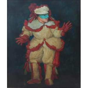 MARIO GRUBER – Fantasiados - OSM/CID - dat 91 - 68 X 57 cm
