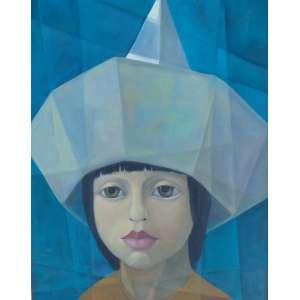 HARRY ELSAS - Figura feminina - OST / CID - 80 x 60 cm.