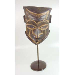 Mascara Africana - 35 cm altura + 29 comprimento e 30 de profundidade .Adquirida em NY na Dec de 70.