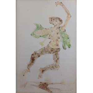 Clovis Graciano - CID - monotipia (no estado) - 3/4 - 50 x 33 cm.