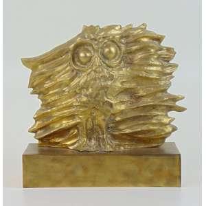 Calabrone - Escultura em forma de Coruja - 21 x 30 cm