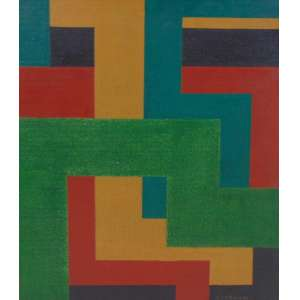 ARNALDO FERRARI - S/T - OSEucatex - CID - dat 1966 - 30,5 x 26,5 cm