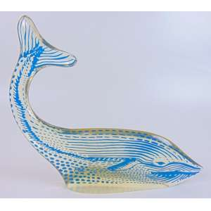 Palatinik - Baleia - 27 cm alt, 29 cm comp
