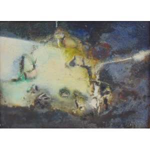 Di prete - Abstrato - pintura em relevo - CID - dat 64 - 33 x 45 cm.
