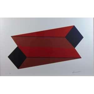 SÉRVULO ESMERALDO - Gravura - CID - 9/60 - 63 x 100 cm.