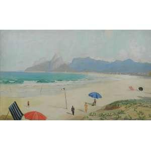 PAUL GAGARIN – Praia de Ipanema e Leblon - OST/CIE - 104 X 168 cm.