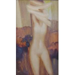 BIANCO ENRICO - Nú feminino - OSE / CIE - dat 77 - 60 x 35 cm.