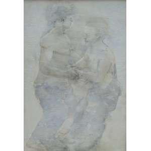 CARLOS ARAÚJO - Dois dançando - OSM/CID - 1,60 x 1,10 cm.