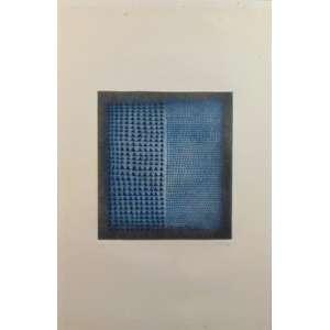 ARTHUR LUIZ PIZA - Gravura sobre papel - CID - tiragem 4/99 - 59 x 39 cm. (no estado)