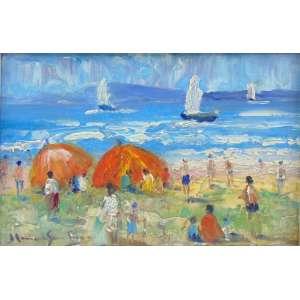 MANOEL SANTIAGO - Praia - OSM/CIE - 15 x 22 cm.