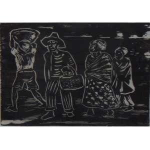 Goeldi - Gravura / CID - 3/8 - 18 x 23 cm.