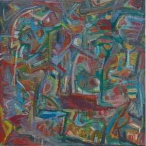 JORGE GUINLE - VIDA- OST /CIE - Dat 1981 - 100 x 100 cm.