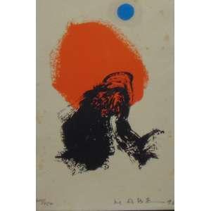 MABE -Abstrato - Gravura - CID - Tiragem 315/450 - Dat 1996 - 20 x 13 cm.