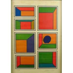 SCLIAR - Serigrafia - CID - dat 1971 - 44/48 - 70 x 50 cm. (no estado)