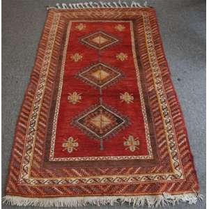 Tapete Oriental manufatura manual Malayer - 188 x 103 cm.