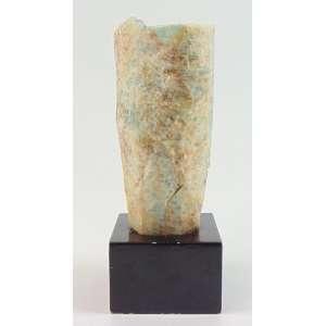 Pedra de água Marinha Bruta - 17 cm alt.
