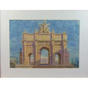 NICOLA ASCIONE - Paisagem - CIE - 39 x 56 cm.