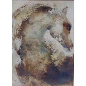 CARLOS ARAUJO - Cavalos - OSM/CIE - 110 x 80 cm.