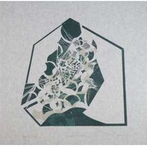 MARIA BONOMI - Zeus, 1995, Xilogragravura, Edição; 64 /250 - 45,5 x 46 cm - não emoldurada.