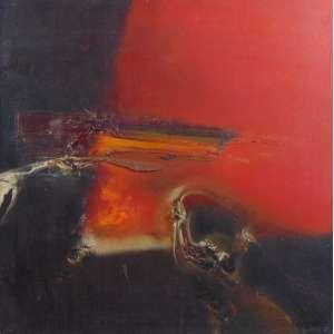 DANILO DI PRETI - Abstrato - OST / CID - 48 x 48 cm.