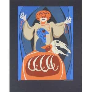 Lula Cardoso Ayres - Circo serigrafia - 36/220 - (não emoldurado) 58 x 44 cm.
