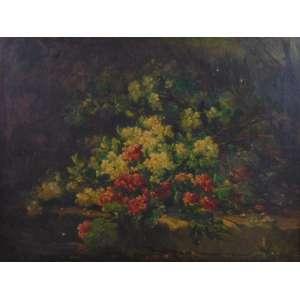 EUGENIO CLODE - Natureza morta - OST - CIE - (no estado) 47 x 61 cm.