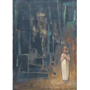 MECATTI DARIO - Composição - OST/CIE - 100 x 70 cm.