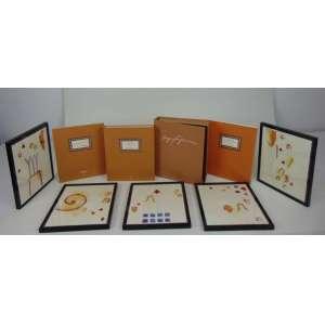 Sergio Fingermann - Oito gravuras fac-similares com intervenções do artista, emolduradas, assinadas e datadas de 2001, medindo 25 x 21 cada. Acompanha o livro do qual fazem parte, Cronologia - Fragmentos de uma obra. Exemplar n° 37/500, constando de 3 volumes mais estojo original.