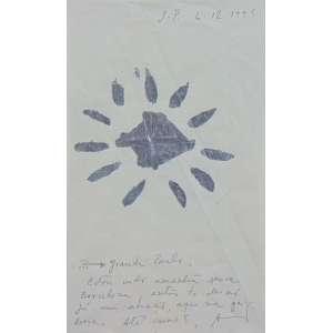 Alex Cerverny - S/T - Técnica mista sobre papel - ACID - 1995 - 18 x 10 cm.