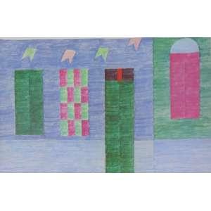 Volpi - Fachada - Serigrafia - 230/250 - Ass. CID - não emoldurada 66 x 94 cm. (marcas do tempo nas bordas)