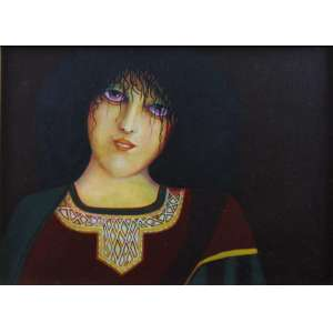 Sonya Grassmann - Figura feminina - OSM - Ass. CID - 1972 - 20 x 28 cm.