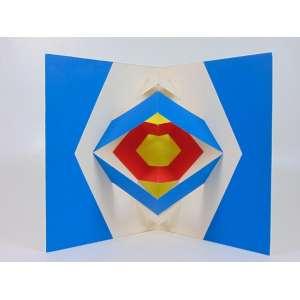 Julio Plaza - Dobráveis - Serigrafia - Ass. no verso - 40 x 30 cm. fechada