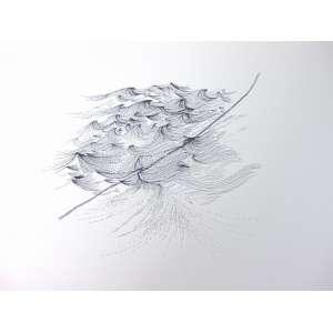 SANDRA CINTO - Da Travessia dificil - Aprés Gericault - Reprodução - pigmento s/ papel (descrição da artista) - titulado e assinado no verso - dat 2007 - 32 x 43 cm. (não emoldurado)