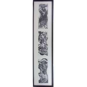 MARIA BONOMI - Fim da Guerra - Litografia - 13/20 - ass. cid - 2002 - 150x33 cm