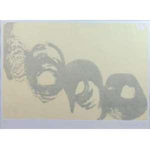 Tomie Ohtake - Sem titulo - gravura em metal - P.A.- Ass. dat - 1989 - 44,5 x 61 cm.