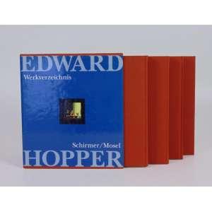 Edward Hopper - Catálogo Raisonee - 3 volumes mais um CD, com estojo da editora