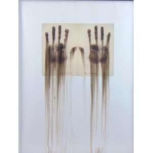 José Rufino - Reflexos - Gravura 10/100 - Ass, CID - 67 x 52 cm.