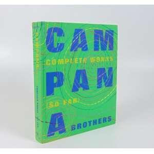 Irmãos Campana - Complete Works (so far) - livro com dedicatória dos dois artistas - 2010