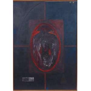 TITO CAMARGO - S/T - Acrilica s/ tela s/ placa/CSD - dat 1983 - 70 x 50 cm.