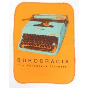 PIER STOCKHOLM - BurocraciaLa Verdadera Historia - Impressão s/ flanela - Bureau e Cracia - Projeto para Paço da Artes - dat 2003 - Lima - São Paulo - 38 x 29 cm - (não emoldurado)