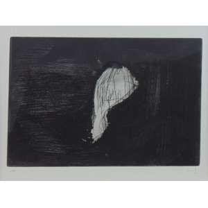 Nuno Ramos - S/T - Gravura em metal - Ass. CID - 1998 - 67/100 - 37 x 47 cm.