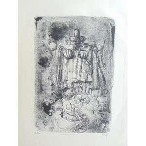 Gruber, Mário - Estandarte N° 11 - Litografia - 8/20 - Ass. CID - não emoldurada - pequenas machas amareladas nas bordas - 77 x 56 cm.